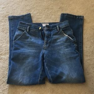 Frame high-waisted jeans